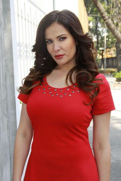 La actriz Arleth Terán, que tuvo una relación amorosa con...