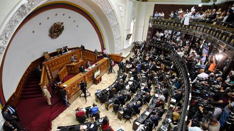 La  Asamblea Nacional de Venezuela, de mayoría opositora.