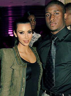 La pareja que más acaparó la atención fue la de Kim Kardashian y el corr...