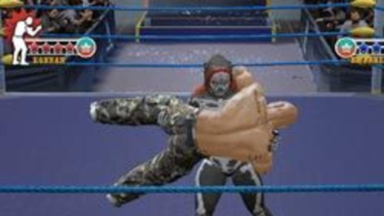 Los luchadores más famosos de la liga mexicana AAA estarán en el juego