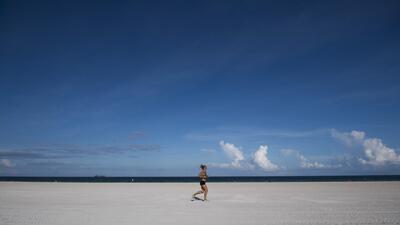 FOTOS: Miami Beach se convierte en una ciudad desierta por el huracán Irma