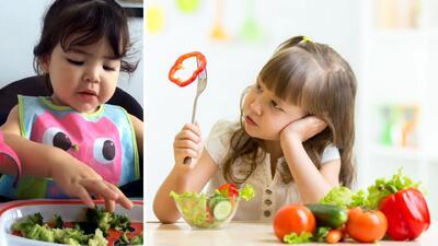 Trucos para que tus hijos coman verduras y las disfruten tanto como Giulietta