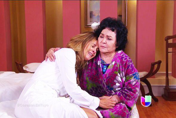 Eso sí, Isabela necesita de todos sus abrazos. Se va a divorciar de Fern...