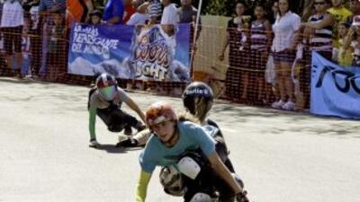 "patinaje ""downhill"""