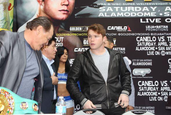 El manager de Canelo dijo que quieren una pelea con Mayweather pronto… y...