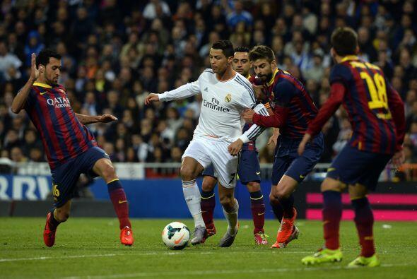 Luego de ese gol recibido con tan sólo cinco minutos disputados, el Madr...