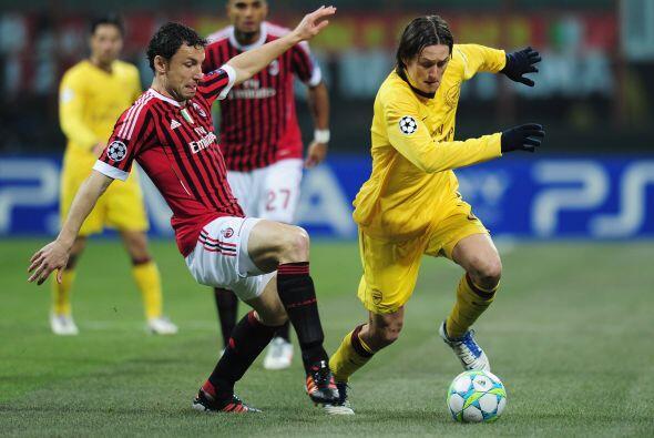 Los 'rossoneri' tenían la localía de un estadio pletórico a su favor, an...