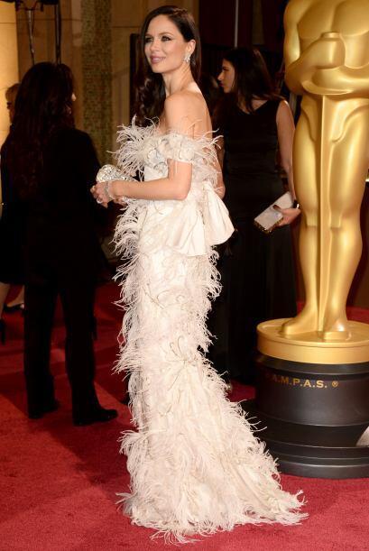 """Georgina Chapman en la celebración de los """"scar en el Hollywood & Highla..."""