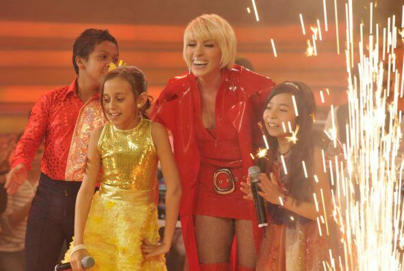 Yuri aseguró que esos niños llegaran muy lejos, pues tienen gran talento.