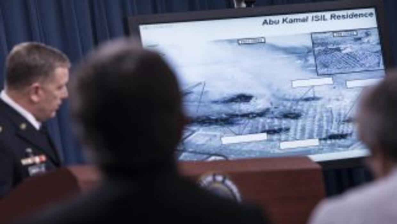 La extensión de los ataques aéreos de Estados Unidos contra los yihadist...