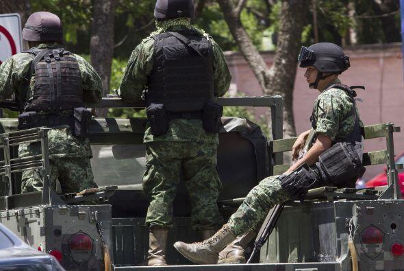 El titular de la Secretaría de Gobernación, Miguel Ángel Osorio Chong, d...