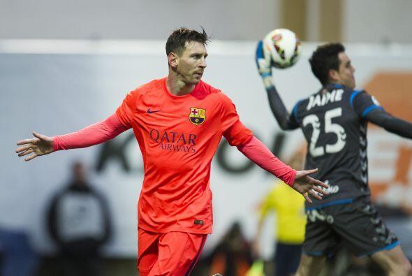 Y apenas un día antes, Messi lideró al Barcelona a una vic...