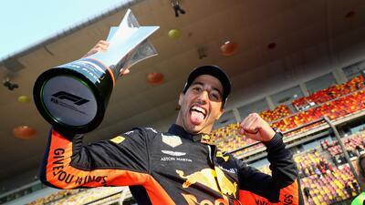 En fotos: Daniel Ricciardo se lleva el Gran Premio de China