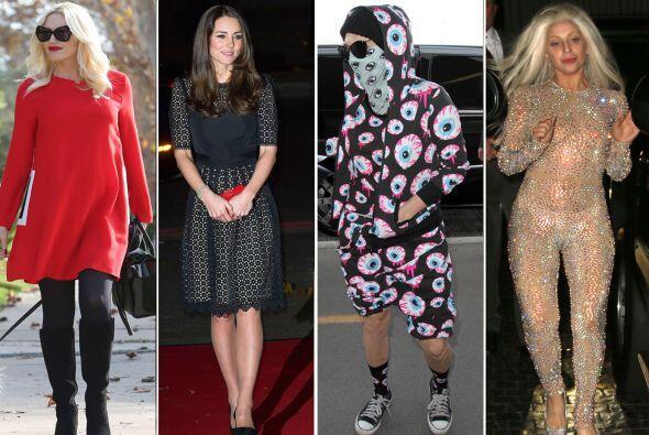 Las celebridades continúan con su intento de querer lucir bien cada una...