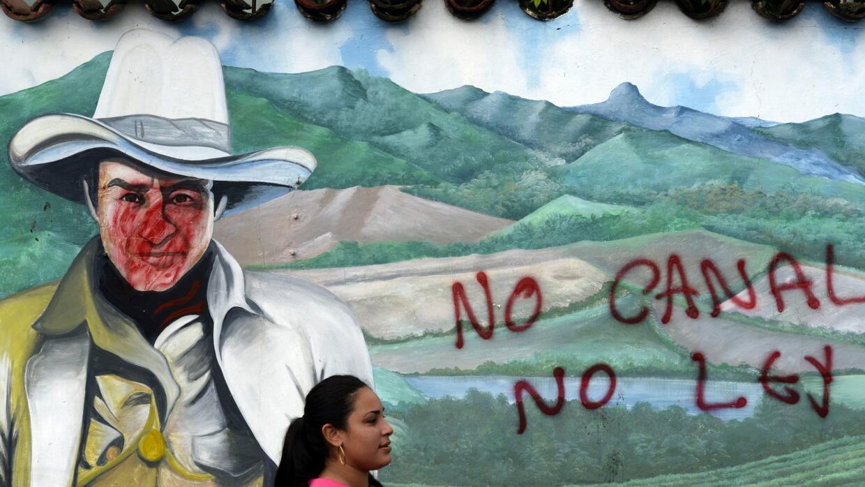 El proyecto del canal amenaza a un pueblo donde vive la comunidad indíge...