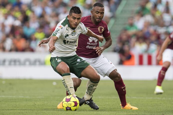 Santos se lleva una infartante victoria ante el América Osvaldo Martinez...