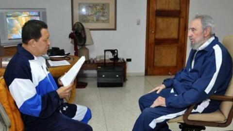 Hugo Chávez y Fidel Castro son dos de los verdaderos magos del Fa...