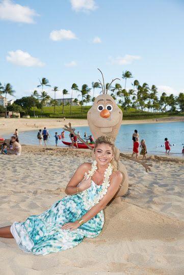 Incluso en la isla de Oahu en Hawai pudo disfrutar de uno de los persona...