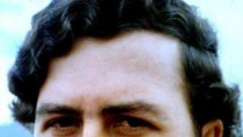 El narcotraficante colombianoPablo Escobar.