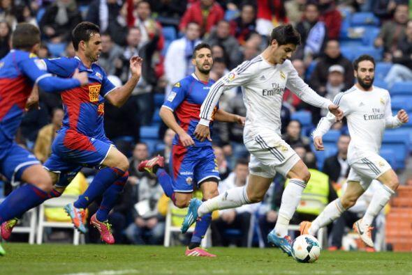Morata también entró en los últimos diez minutos.