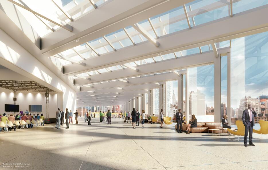 Estas son las imágenes reveladas del proyecto de remodelación de Penn St...