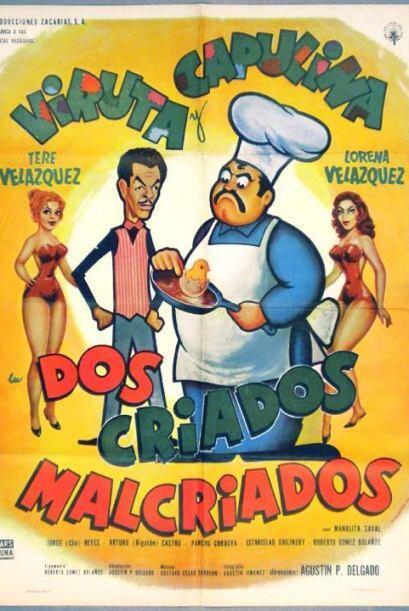 En 'Dos Criados Malcriados' de 1960, Don Antonio quiere casar a una de s...