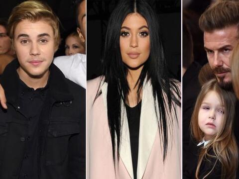 Justin Bieber, el clan Jenner-Kardashian y la dinastía Beckham, s...