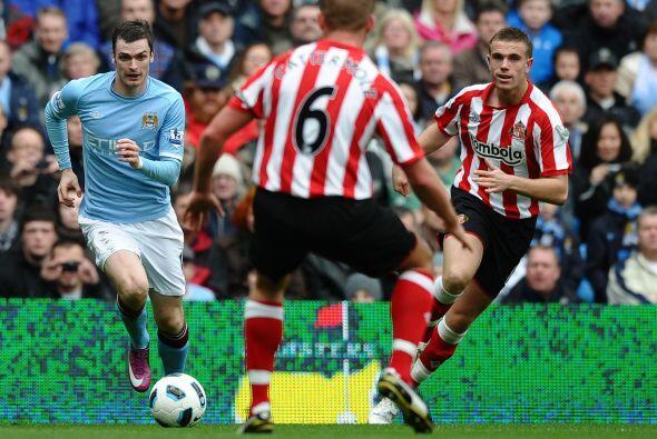 Manchester City disputó el duelo más atractivo de la jorna...