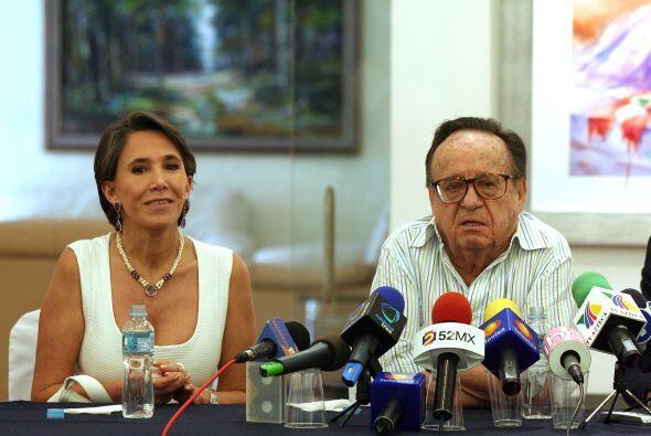 Florinda y Roberto se volvieron inseparables.