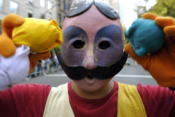 Muy peculiares los disfraces de este año ¿no? ¡Hola Pinocho!