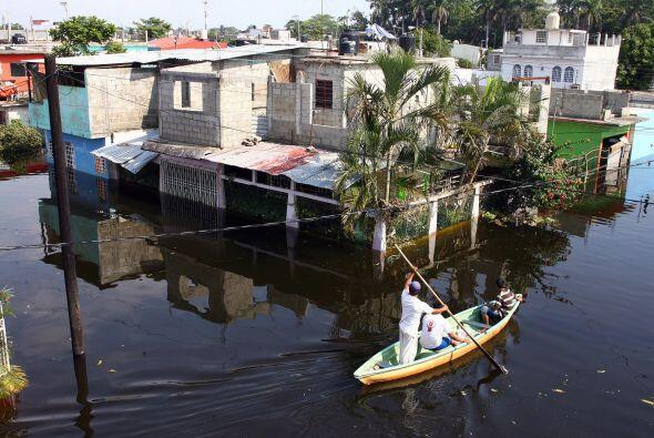 En 2007, Tabasco vivió junto a Chiapas crecidas históricas en los nivele...