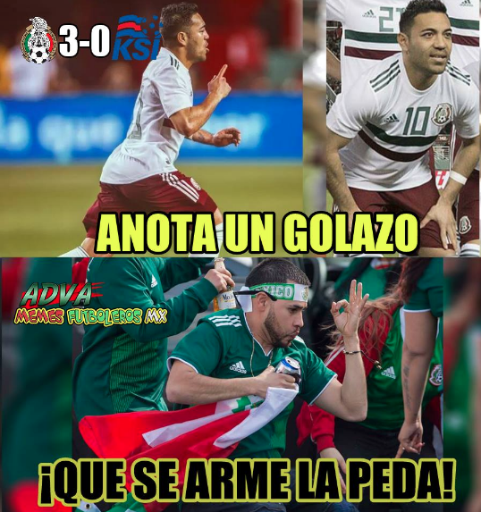 Los memes también vivieron su propio triunfo mexicano contra Islandia ca...