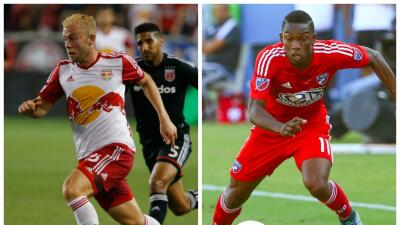 Mike Grella & Fabián Castillo, Red Bulls y FC Dallas