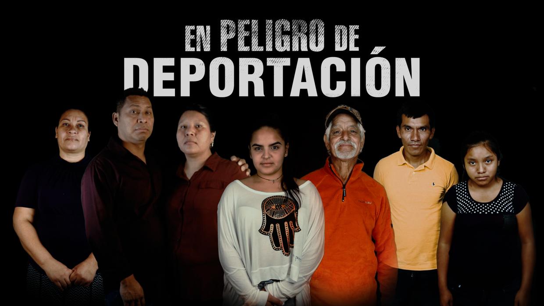Los personajes de 'En peligro de deportación', un proyecto de re...