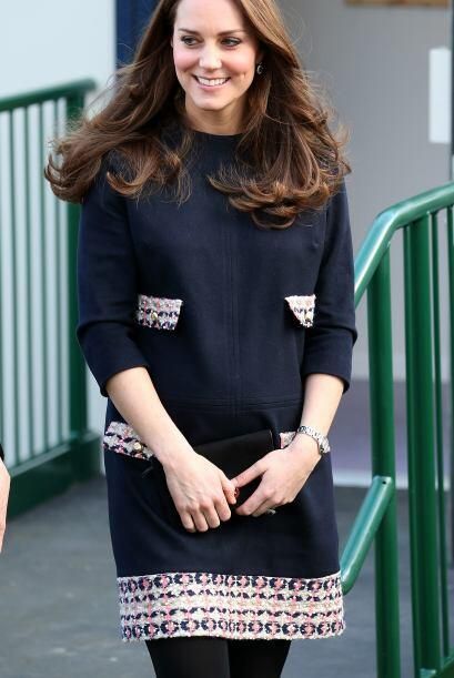 Así reapareció Kate Middleton tras no verla desde las fiestas decembrinas.