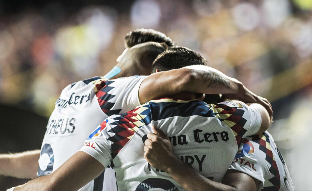 América mostró categoría y goleó 1-5 al Saprissa en San José gettyimages...