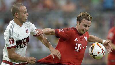El Bayern Munich superó ampliamente al histórico equipo italiano.