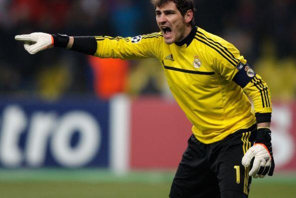 El portero Iker Casillas le pedía máxima concentraci&oacut...