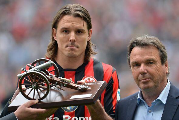 El máximo goleador de la Bundesliga no fue un jugador del campeón. El go...