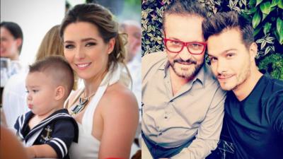Ariadne Díaz, Eugenio Derbez y otros famosos que han compartido pantalla con sus hijos