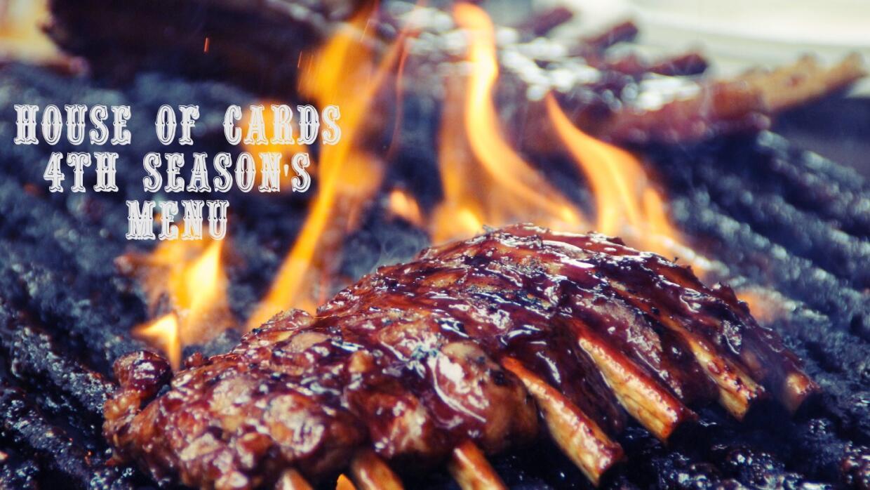 Costillas BBQ para ver House of Cards