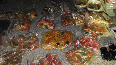 Decomisan en Texas un cargamento millonario de dulces con metanfetaminas