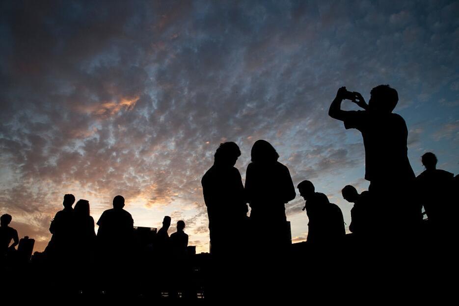 El fenómeno del sol alineándose con Manhattan será a las 8:20 p.m.