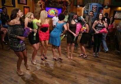 Un bailecito durante el show nunca está de más...