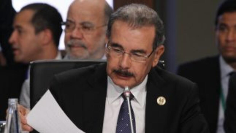 El presidente de República Dominicana, Danilo Medina.