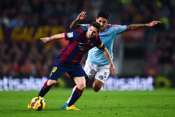 Ahí vino un bache para el argentino y el propio Barcelona pues en...