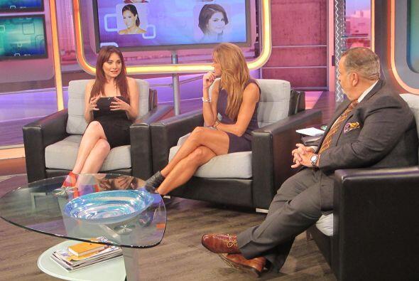 La actriz nos contó del pleito que vivieron Andrés Garc&ia...