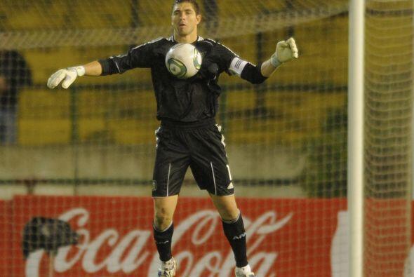 A la selección argentina regresó el portero Juan Pablo Carrizo cuyo últi...