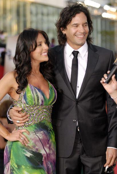 """La villana de """"Eva Luna"""", Vanessa Villela todavía estaba casada con Mari..."""