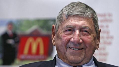 Michael 'Jim'' Delligatti, el creador de la famosa hamburguesa doble Big...